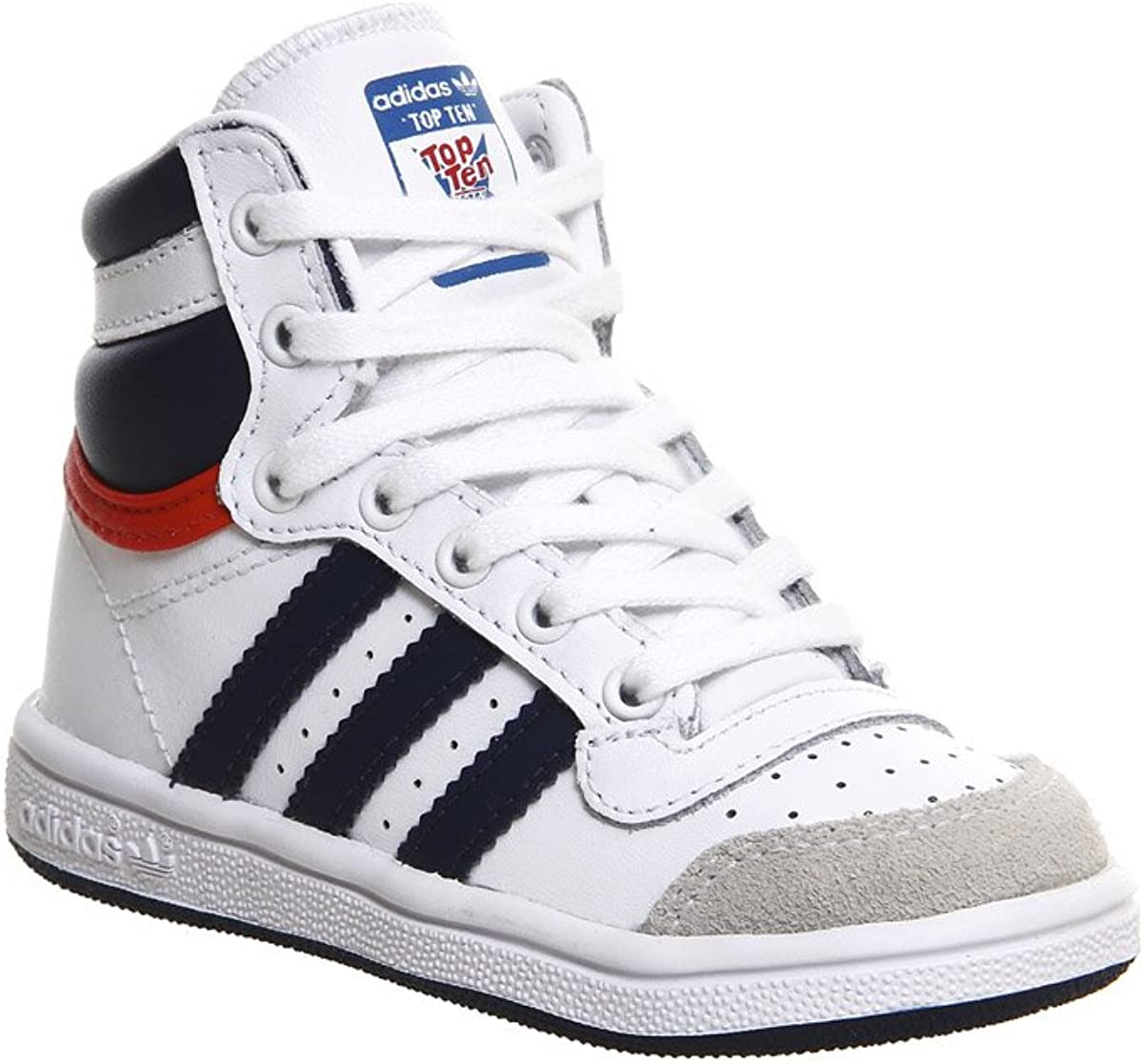 adidas Top Ten Hi, Baskets Basses Mixte Enfant