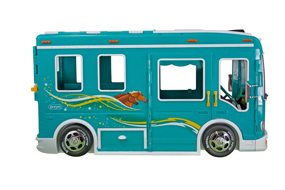 Breyer Classics Horse Cruiser Vehicle Teal (1: 12 Scale), 19'' x 8.5'' x 10.25'', Multicolor by Breyer (Image #3)