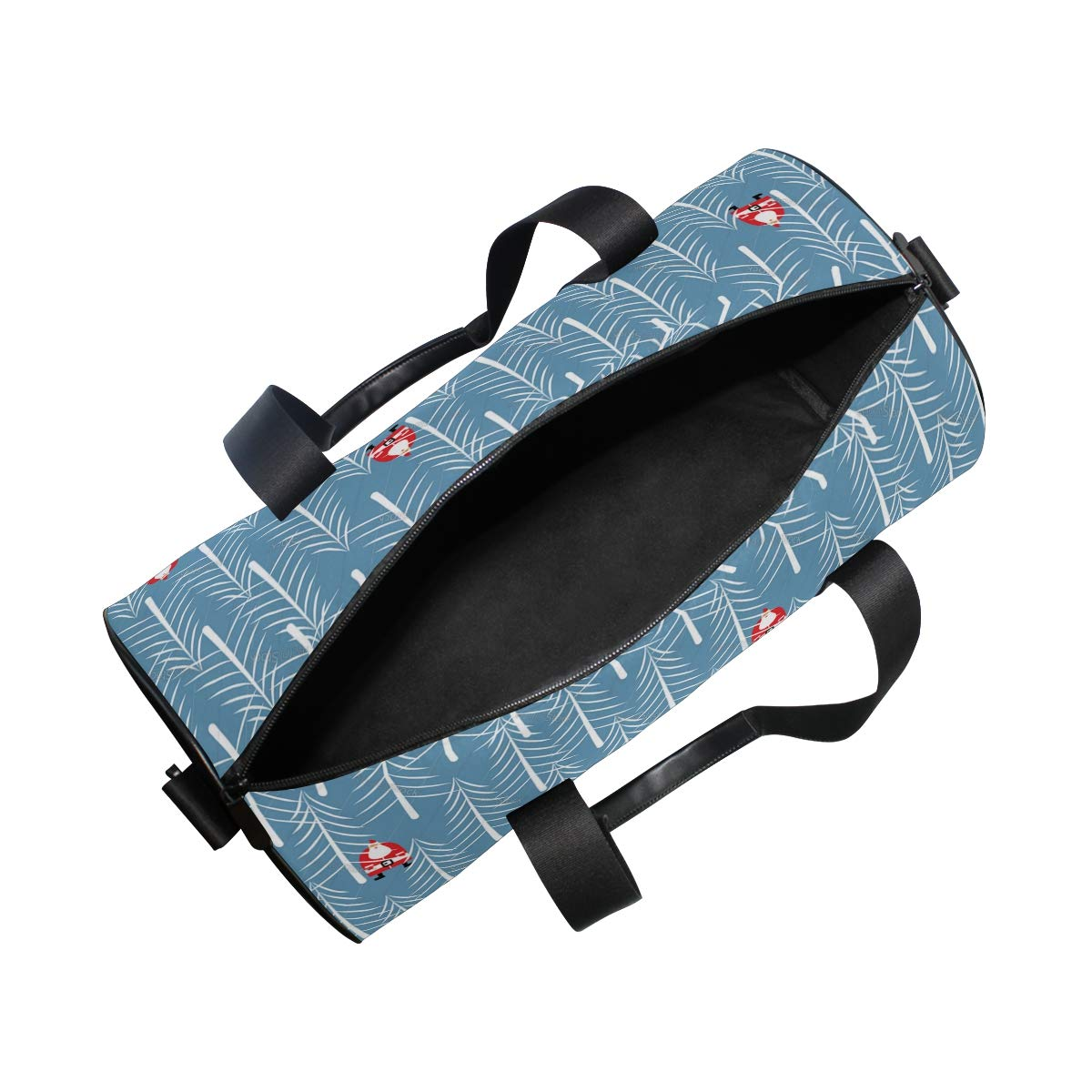 Waterproof Shoulder Bag. Santa Looking For Christmas Tree Popular casual fitness bag,Non-Slip Wearable Crossbody Bag