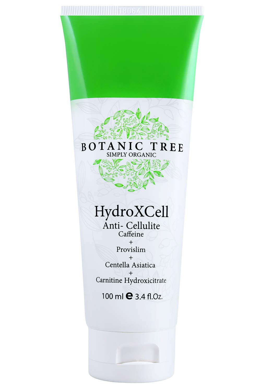 HydroXCell Anti Cellulite Cream Botanic Tree-Decrease Cellulite in 92% of Customers After 2 Months-Proven Results-100% Organic Extract-Cellulite Cream Remover w/Caffeine,Centella Asiatica,and Gingko. by Botanic Tree