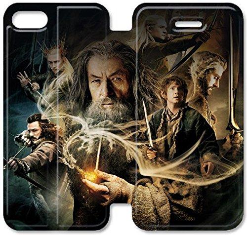 Klreng Walatina® Coque iPhone 6 6s Plus de 5,5 pouces Coque cuir désolation de Smaug P7K6Xs