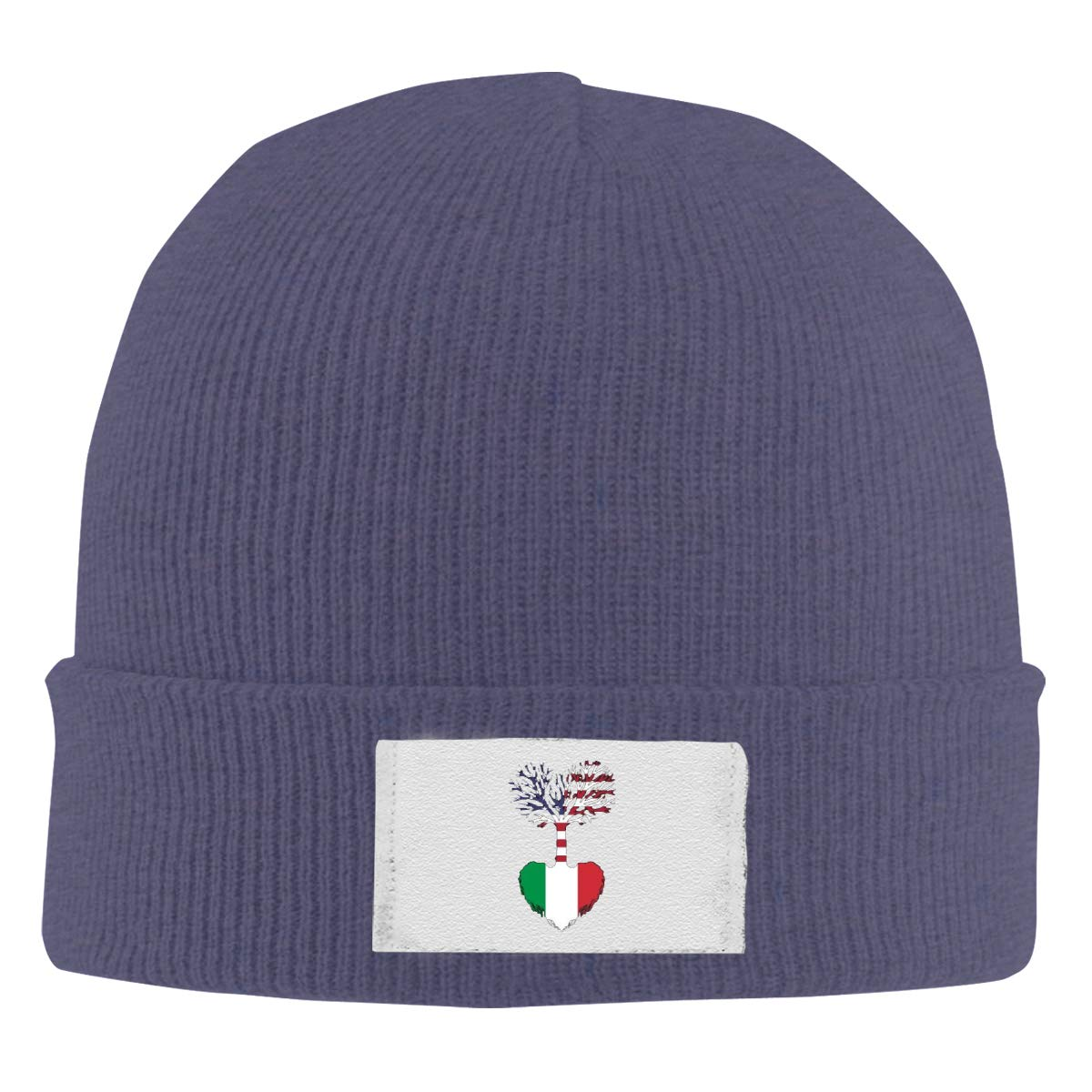 Unisex Stylish Slouch Beanie Hats Black American Grown Italian Root Top Level Beanie Men Women