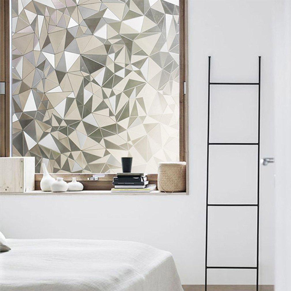Aruhe Statische Elektrizität Fenster Milchglasfolie 90 x 200 cm