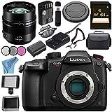 Panasonic Lumix (DC-GH5S) Mirrorless Micro Four Thirds Digital Camera Leica DG Nocticron 42.5mm f/1.2 ASPH. POWER O.I.S. Lens Bundle
