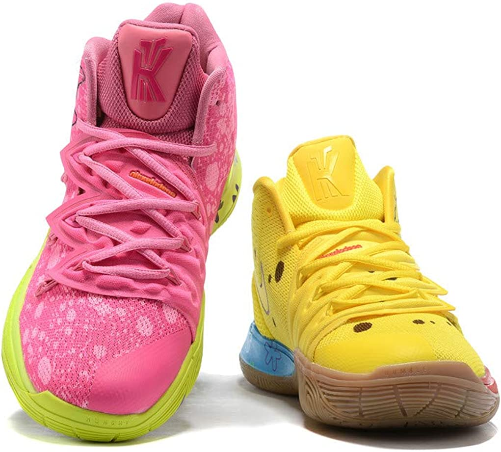 Kyrie Spongebob SquarePants Patrick Yellow And Pink Shoes Basketball Shoes