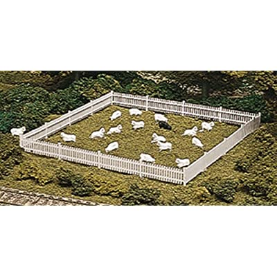 ATLAS MODEL 776 Picket Fence & Gate Kit HO: Toys & Games