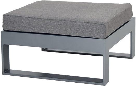 Schlichter Möbel Muebles de Jardín Taburete Taburete para salón de Stratos Aluminio: Amazon.es: Jardín