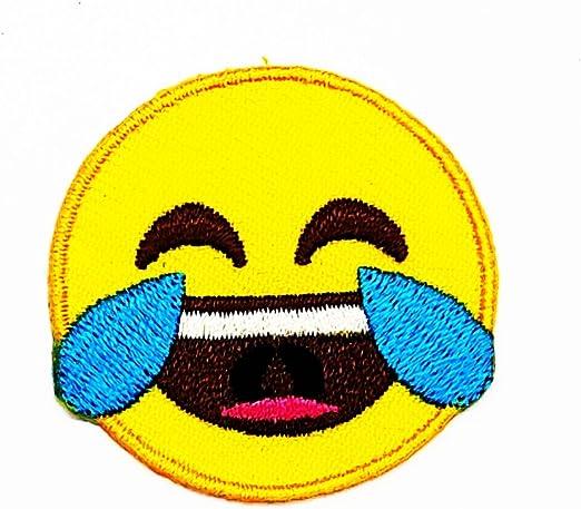 Rabana Pleurs Emoji Cheeky Sourire Visage Dessin Anime Enfants
