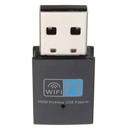 Hi-Speed 300Mbps Mini Wireless USB Wifi Adapter 2.4GHz 802.11n//g//b LAN  Network