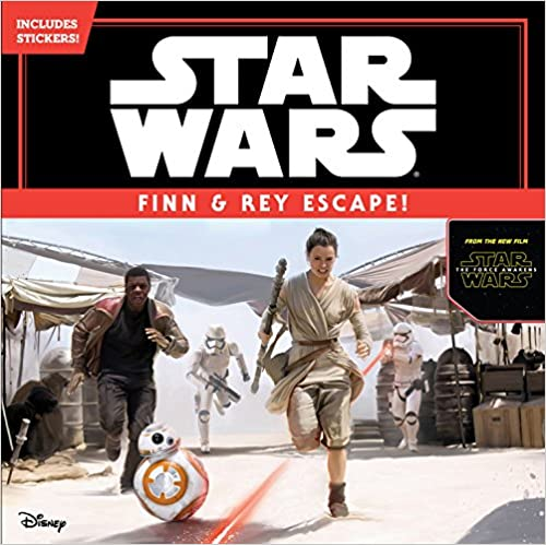 Read Star Wars The Force Awakens: Finn & Rey Escape! (Includes Stickers!) PDF, azw (Kindle)