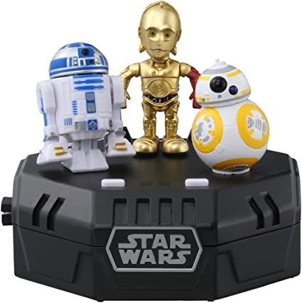 TAKARA TOMY STAR WARS SPACE OPERA R2-D2 Dancing Music Toy from Japan F//S