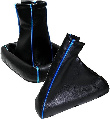 Bordure Bleue AERZETIX 40DG0017R0017G Soufflet Levier de Vitesse Frein /Ã/Main