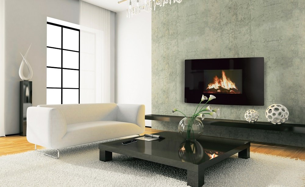 Designer Celsi Fire – Puraflame Curved by Celsi
