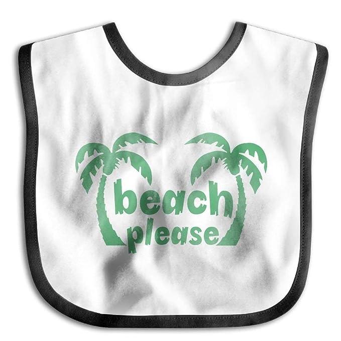 a401f80bc0ad Amazon.com  Hot Sale Children Burp Cloths Beach Please Palm Trees ...