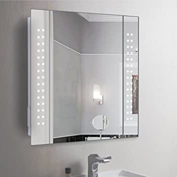 Anaelle Pandamoto Armoire de Toilette Avec 1 Miroir Porte et