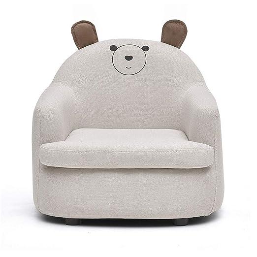 Mini sillón para niños, tela de poliuretano, fácil de ...