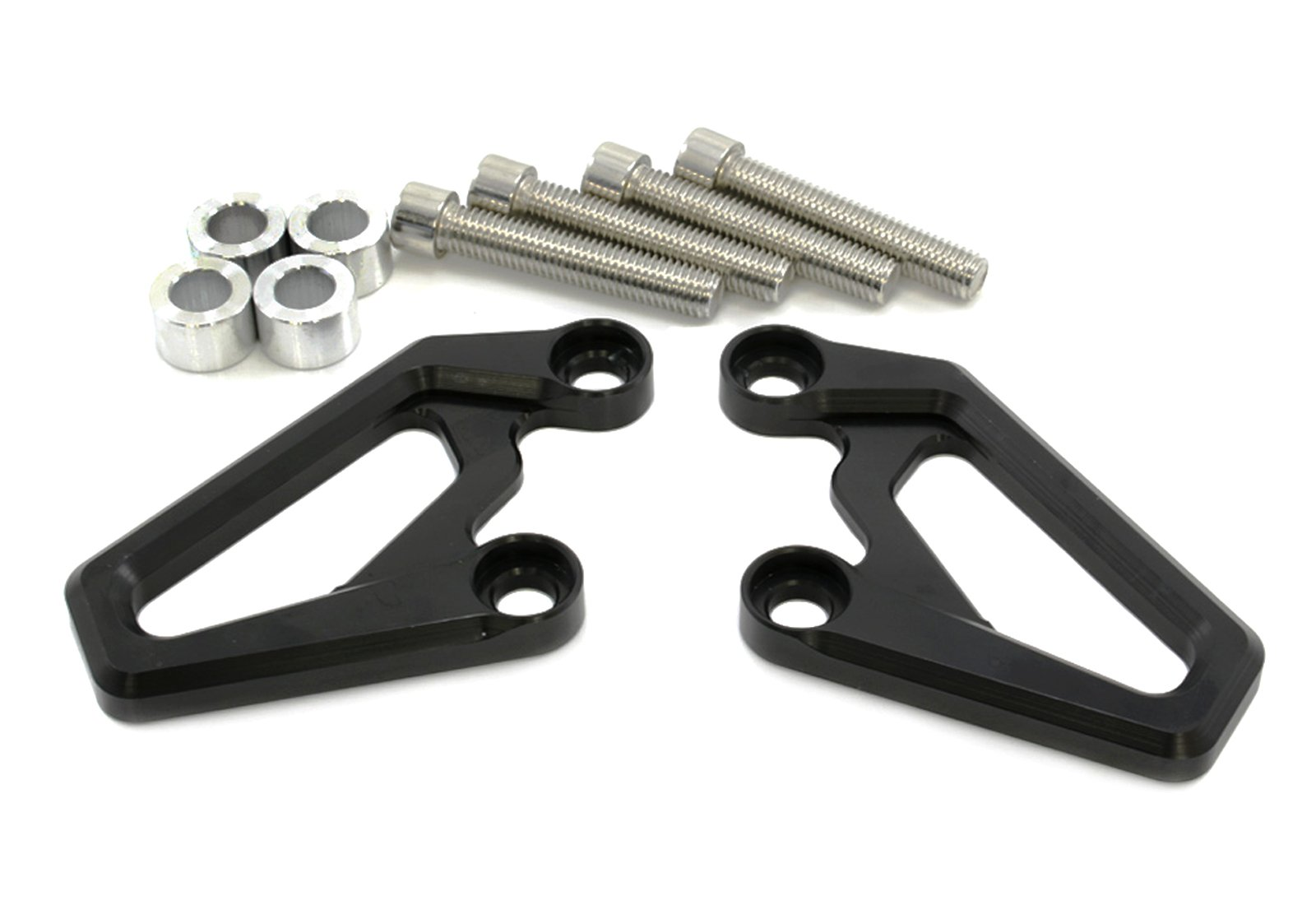 Motorcycle Front Left & Right Brake Caliper Guard For BMW R1200GS 08-12 R1200GS ADV 09-13