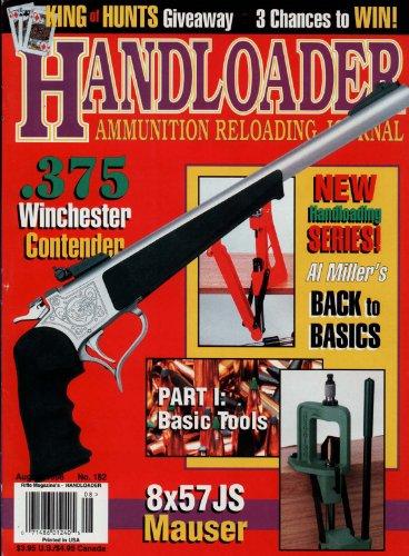 (Handloader Magazine- August 1996 - Issue Number 182)