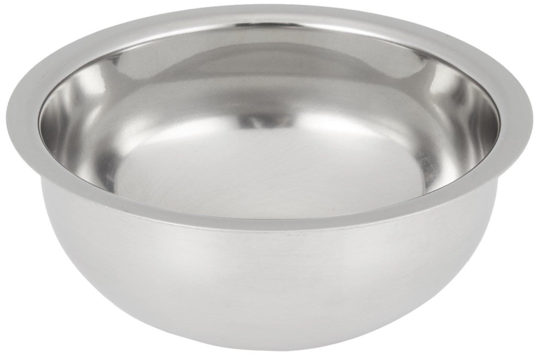 Edwin Jagger Contemporary Chrome Plated Shaving Soap Bowl