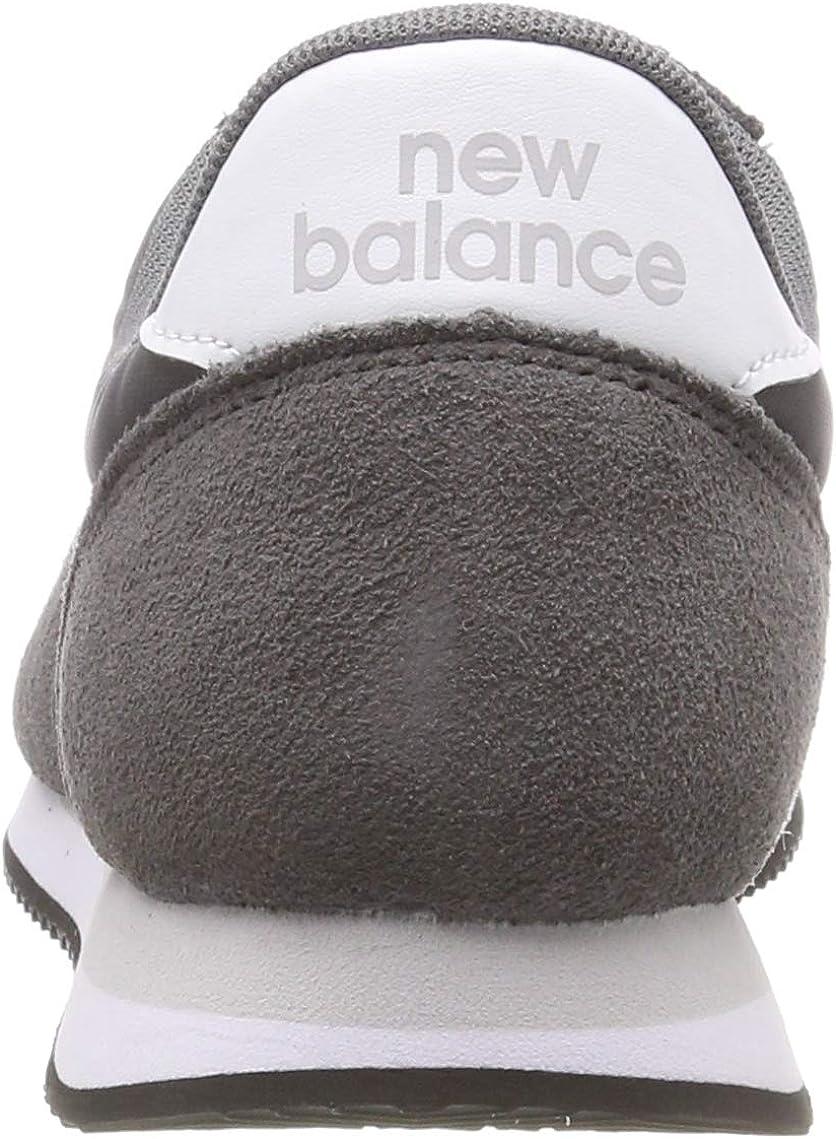 New Balance Unisex-Erwachsene 220 Sneaker Grau (Lead/White Fk)
