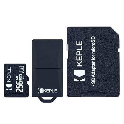 Tarjeta de Memoria MicroSD de 256GB Clase 10 Compatible con Nikon ...