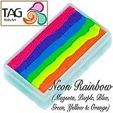 TAG Face Paint 1-Stroke Split Cake - Rainbow Neon (30g)