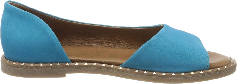 Tamaris 1-1-28185-34, Sandale Plate Femme Pool