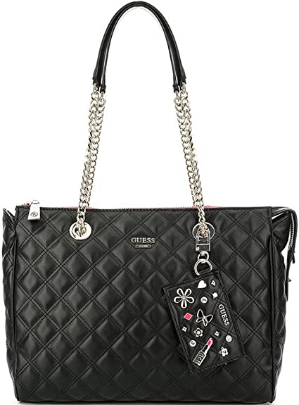 amazone sac cabas guess collection noir
