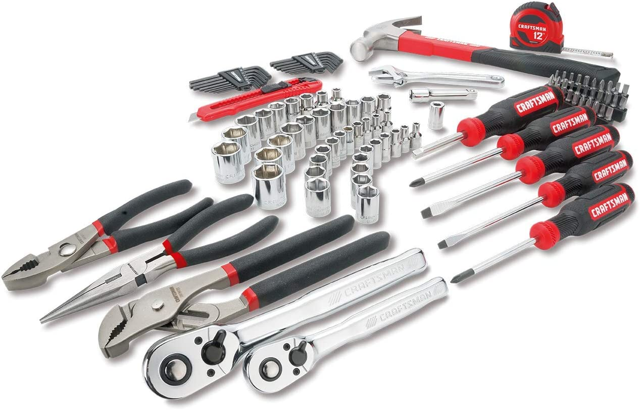 CRAFTSMAN Mechanics Tools Kit / Socket Set, 102-Piece (CMMT99448)