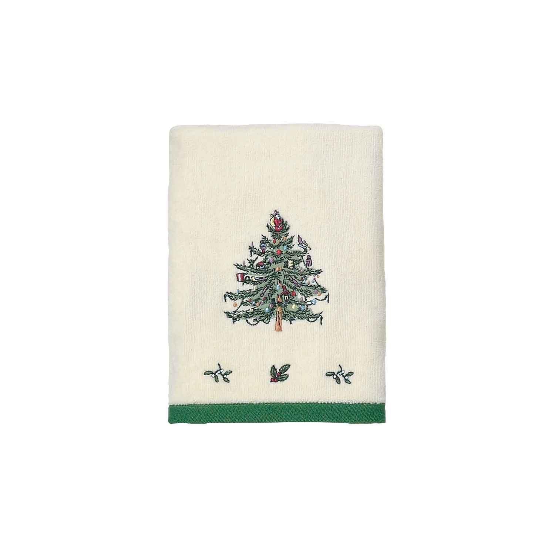 Spode Christmas Tree Hand Towel Lavorist
