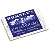 ROMNEY'S OF KENDAL Kendal Mint Cake WHITE 85g / 2.99oz x1
