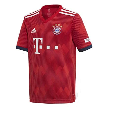 super popular e1da9 c1500 Amazon.com : adidas 2018-2019 Youth FC Bayern Munich Home ...