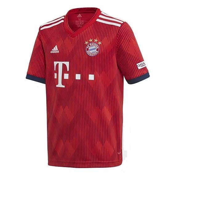 : adidas 2018 2019 Youth FC Bayern Munich Home