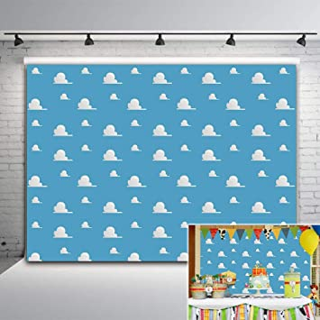 Penguin Stripes Baby Shower Step Repeat Photo Backdrop