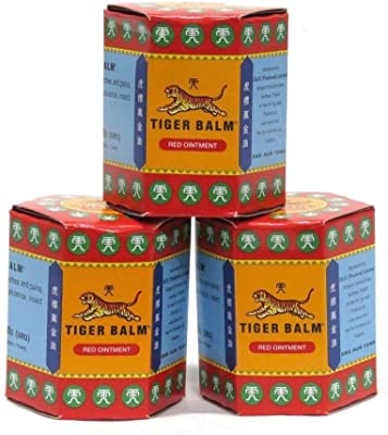 RED Tiger Balm 3 box of 30g