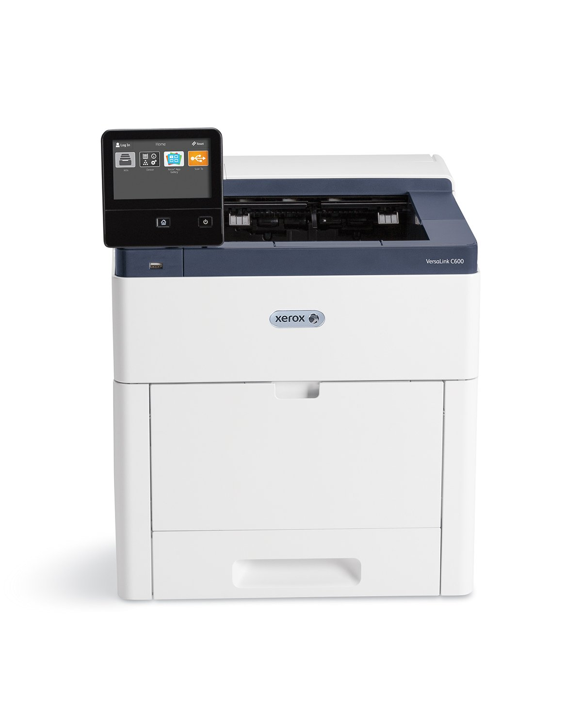 """Xerox C600/N VersaLink Color Laser Printer Letter/Legal up to 55ppm USB/Ethernet 550 Sheet Tray 150 Sheet Multi Purpose Tray 5"""" Display"""