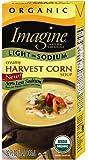Imagine Organic Soup, Light Sodium Creamy Harvest Corn, 32 Ounce