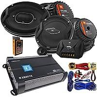 "(2) JBL GTO 939 Premium 6x9"" Co-Axial Speaker + (2) GTO609C Premium 6.5"" Component Speaker System + Gravity WZ1000.4 1000W 4 Channel 2/4 Ohm Stable w/Remote Sub Control Amplifier + Amp Kit"