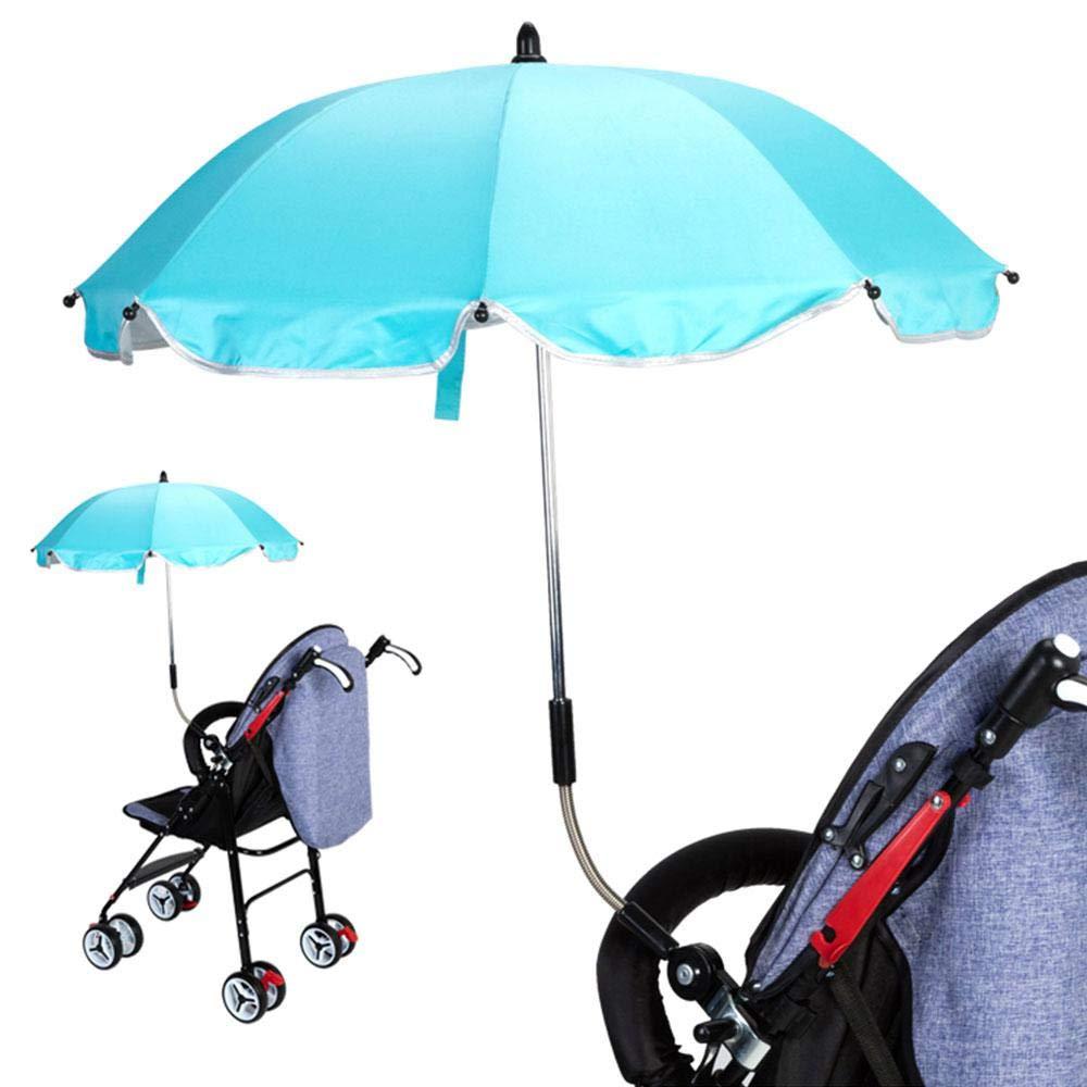Aolvo Universal Kinderwagen Regenschirm Strapazierfahig Zum