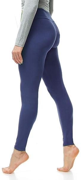 Amazon.com: LMB Leggings extra suaves para mujer con ...