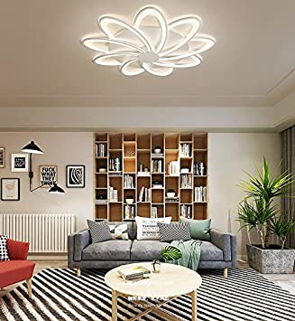 Deckenleuchten,Wohnzimmer Deckenleuchte Blume-Förmige ...