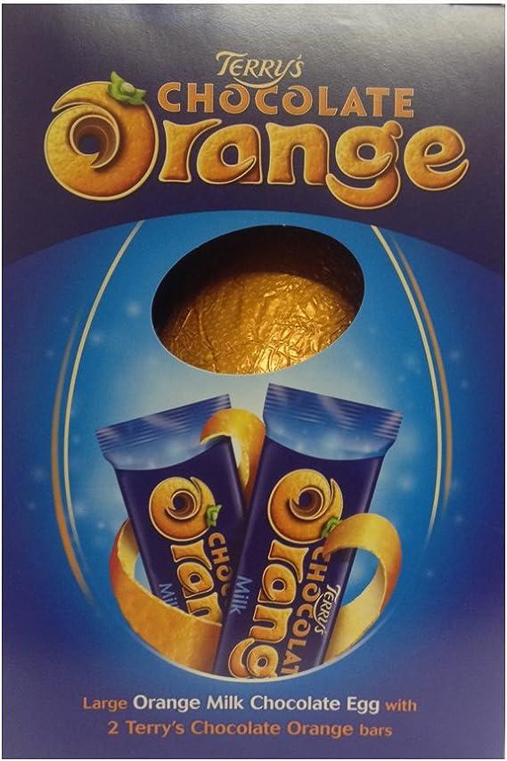 Terrys Chocolate Orange Large Easter Egg 276g Amazoncouk