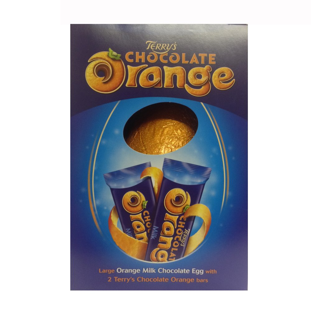 Amazon.com : Terrys Chocolate Orange Hollow Egg 276g : Grocery ...