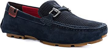 VELEZ Mens Genuine Colombian Leather Driving mocs | Mocasines de Hombre de Cuero
