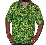 Hawaiian Shirts Mens Rayon Aloha Party Holiday Amnesia Kush- XXXL