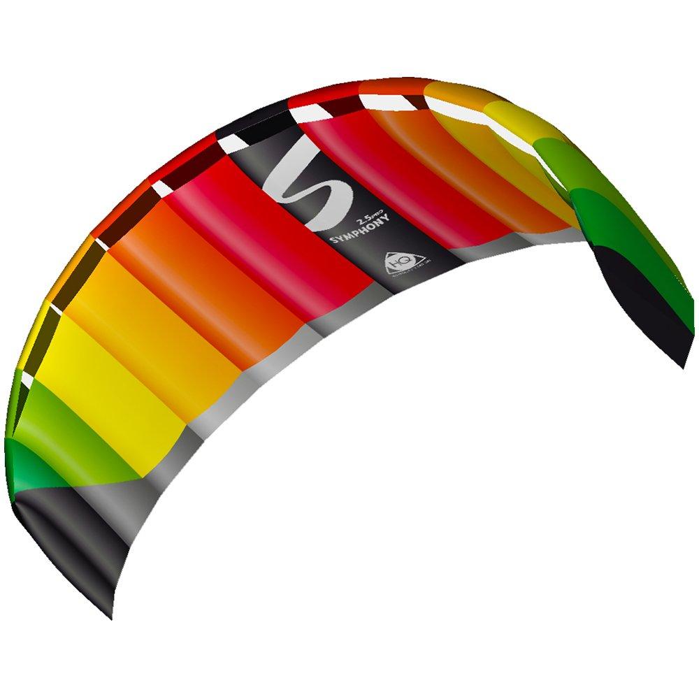 HQ Kites Symphony Pro 2.5 Kite, Rainbow