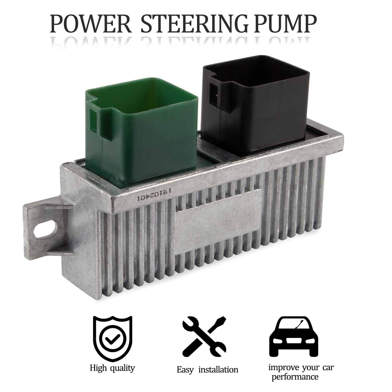 Diesel Glow Plug Control Module Relay for 1999-2010 Ford Super Duty,Club Wagon,Excursion 7.3L 6.0L 6.4L Replaces YC3Z12B533AA Silver