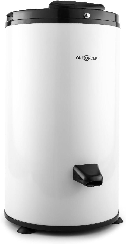 Oneconcept MNW3-WS-3500 centrifugadora de Ropa (Tambor 6 kg, 2800 Rev/min, Tiempo Secado 2-3 Minutos, Acero Inoxidable, Funcionamiento silencioso, Mecanismo Seguridad) - Blanco