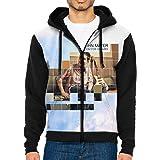 AntoinetteJackson tteJackson Mens Full-Zip Hooded Mans Fashion Sweatshirt Cool Jacket Gift