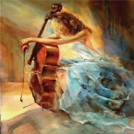 LiMengQi2 Pintura de Lona nórdica Moda Figura Sexual Cuadro Pared Arte decoración para el hogar Cartel Sala de Estar Chica Dormitorio Arte Abstracto Pintura al óleo (No Frame): Amazon.es: Hogar